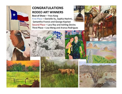 Awty Student Wins Best in Show at Houston Livestock Show & Rodeo Art Competition