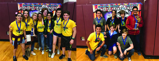Awty's Odyssey of the Mind Teams Advance to the State Finals