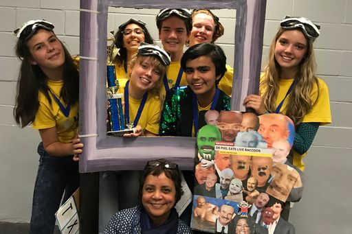 Awty's Odyssey of the Mind Team Advances to the Worlds