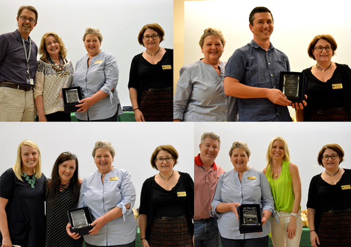 Faculty & Staff Awards Presented for 2017-2018