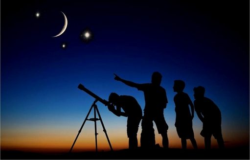 Family Astronomy Night - Tomorrow, January 10