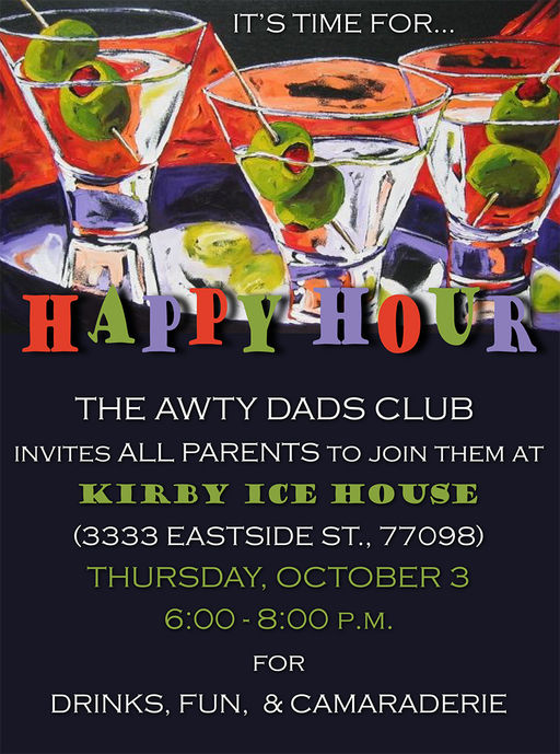 Awty Dads Club Happy Hour