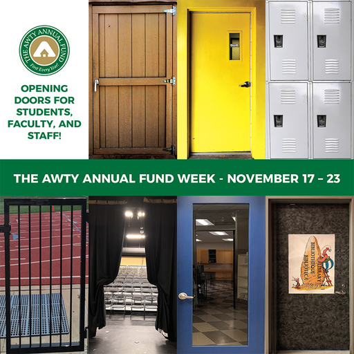 Save the date – The Awty Annual Fund Week is coming!