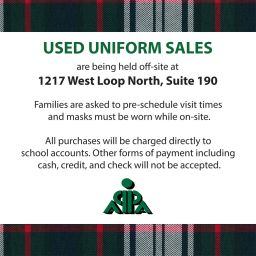 APPA Used Uniform Sales