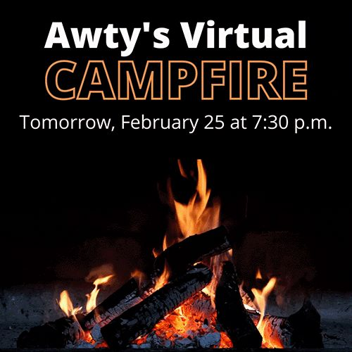 Awty Campfire is Tomorrow, February 25