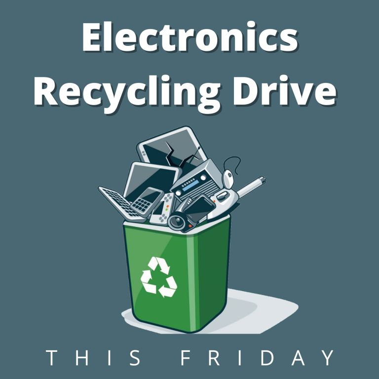 Electronics Recycling Drive Reminder