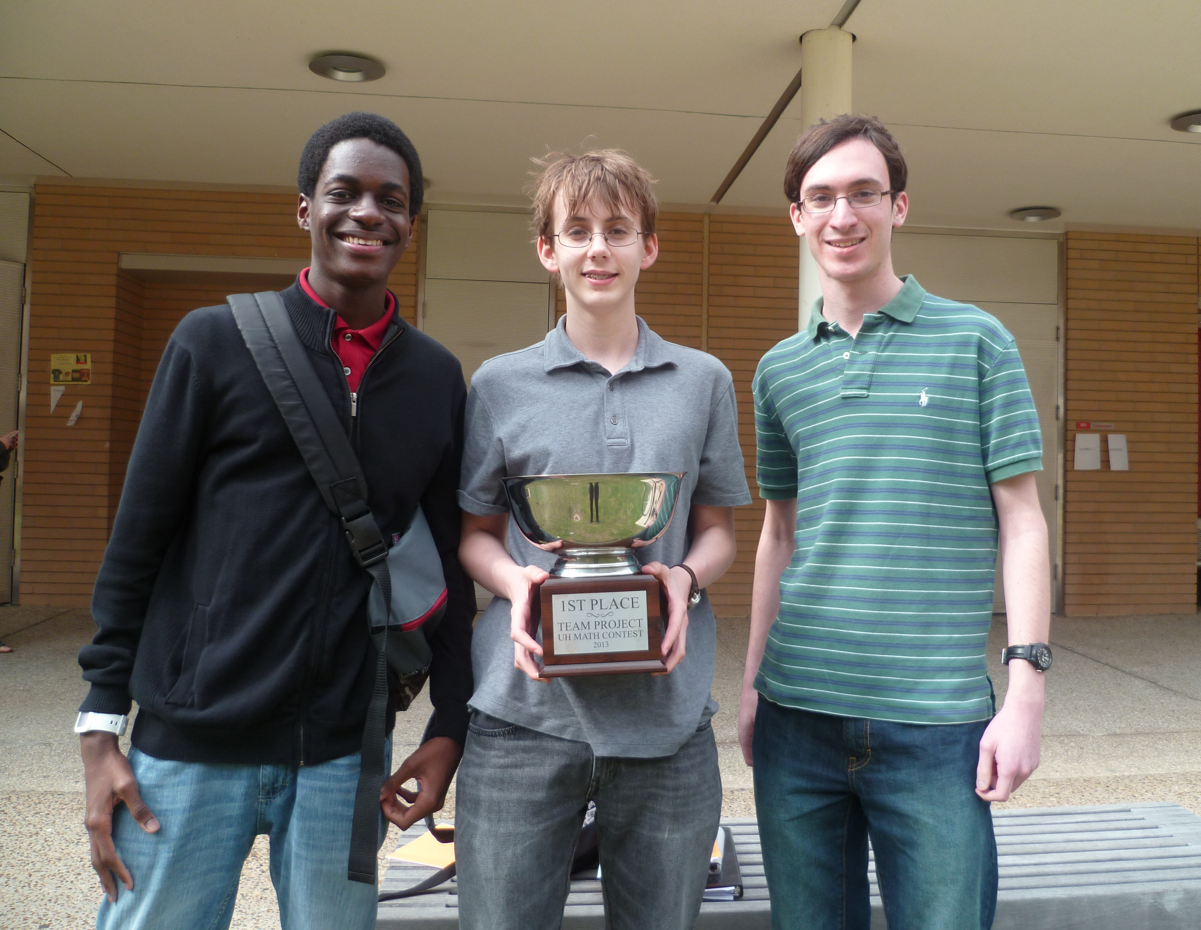 Winning the 2013 University of Houston Math Contest