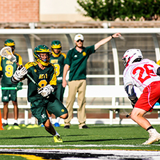 photo of boys lacrosse in action