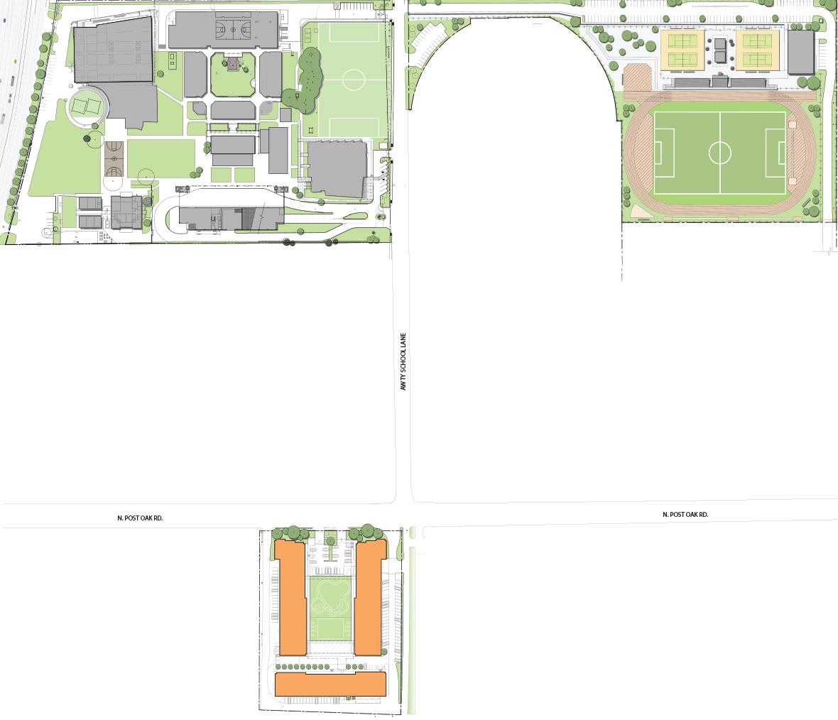 School Campus Map.Campus Map The Awty International School Houston